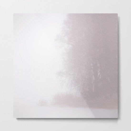 Misty Atmosphere Metal Print