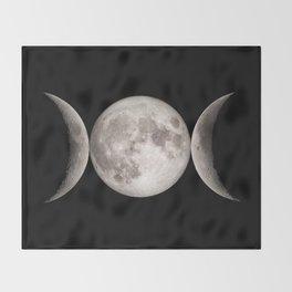 Triple Moon Throw Blanket