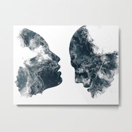 Âmes Metal Print