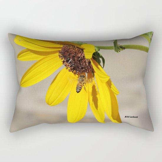 Desert Sunflower Pollen Shop Rectangular Pillow