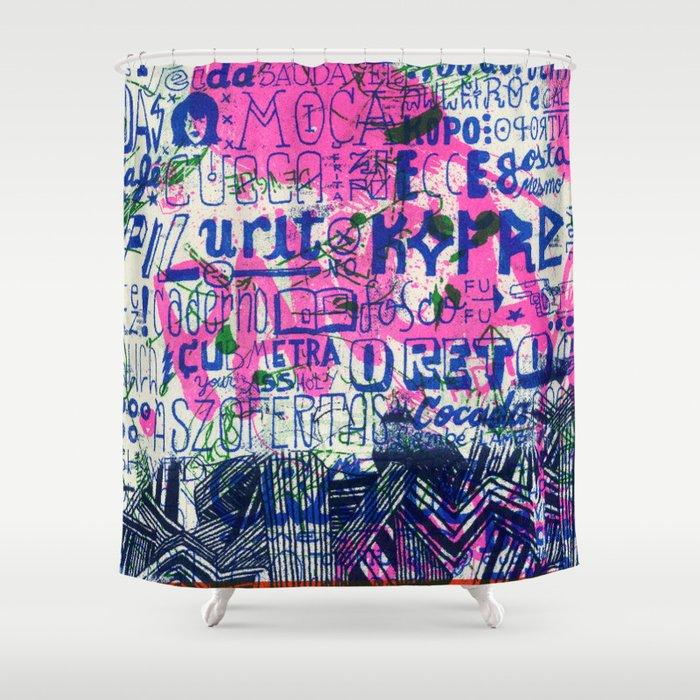 Ecce Gosta Shower Curtain