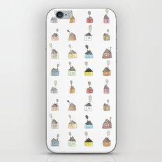 les petites maisons douillettes iPhone & iPod Skin