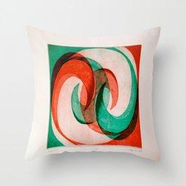 Wave 2 Throw Pillow