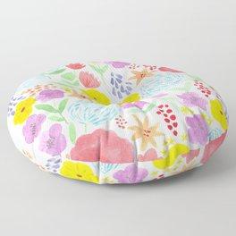 les fleurs Floor Pillow