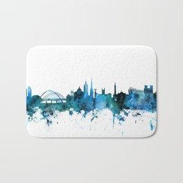 Newcastle England Skyline Bath Mat