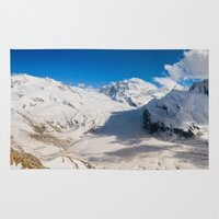 switzerland Area & Throw Rugs featuring Switzerland - Panorama (RR66) by RR Photo | Landscape Photography