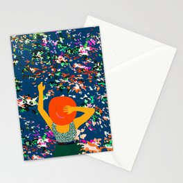 Lost in the meadows of our memories, it took me time to realise the seasons had changed again Stationery Cards