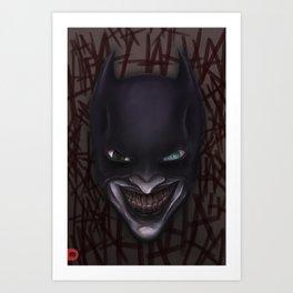 Batjoker Art Print