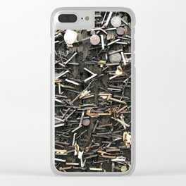 Staples and Nails it! Clear iPhone Case