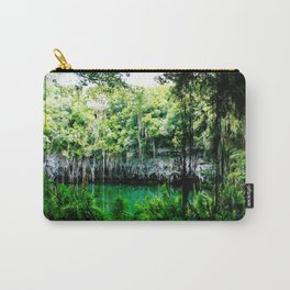 Travel Photography : Los Tres Ojos - Dominican Republic Cave Carry-All Pouch