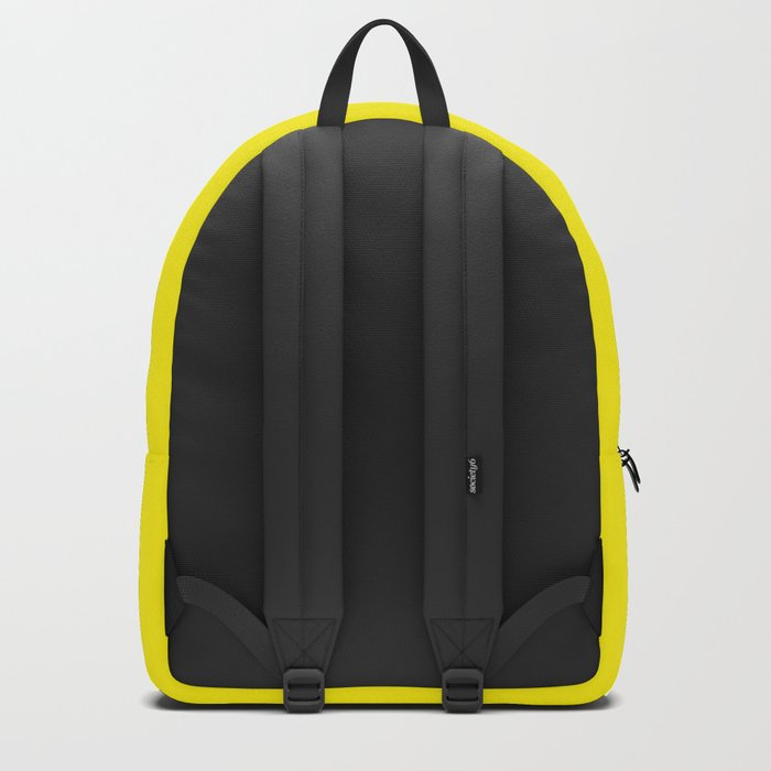 Simply Bright Yellow Backpack