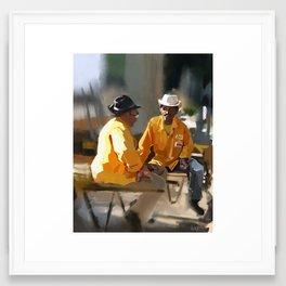 CEASA Workers Framed Art Print