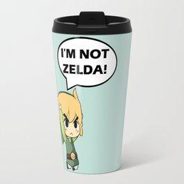 I'm not Zelda! (link from legend of zelda) Travel Mug