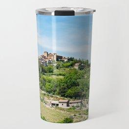 Traditional Village In Tuscany Travel Mug
