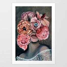 Flora_ii Art Print