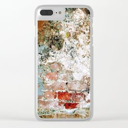 Brick by Brick Clear iPhone Case