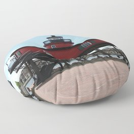 Seven Foot Knoll Lighthouse Floor Pillow