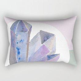 Amethyst Cluster I Rectangular Pillow