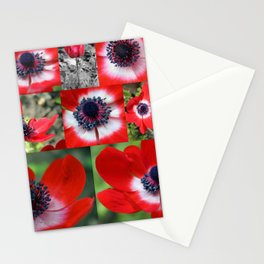 Many Anemones Stationery Cards