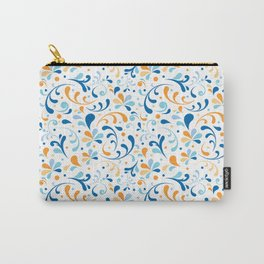 Paisley Swirly Carry-All Pouch