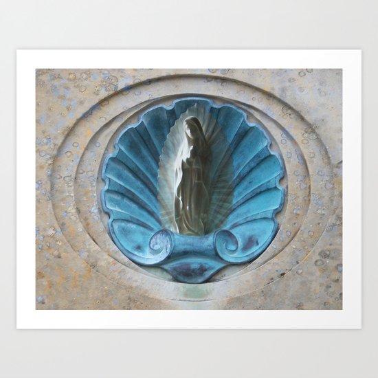 "La Virgen de Guadalupe series: ""Goddess"" Art Print"