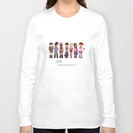 Like an Anime Enthusiast Long Sleeve T-shirt