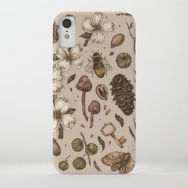 Nature Walks (Light Background) iPhone Case