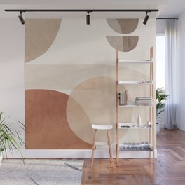 Abstract Minimal Shapes 16 Wall Mural