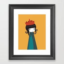Queen Framed Art Print