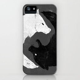 Feed the Wolves iPhone Case