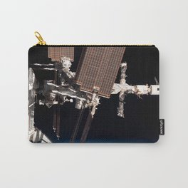 Endeavour docked to ISS Carry-All Pouch