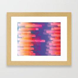 Dichroic Sample 273 Framed Art Print
