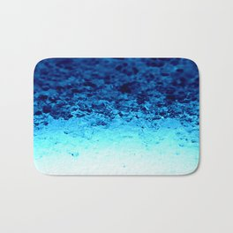 Blue Crystal Ombre Bath Mat