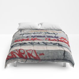 Croix Rousse stairs Comforters
