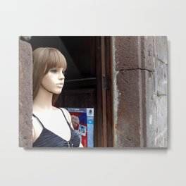 Morelia Mannequin  Metal Print