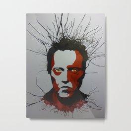 Walken Dead Metal Print