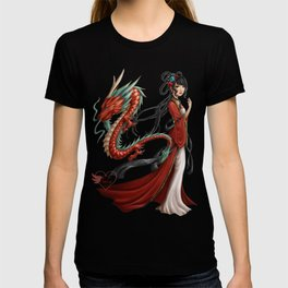 Chinese dragon pure T-shirt