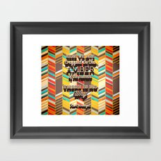 Vonnegut Framed Art Print