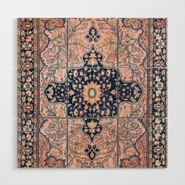 Sarouk  Antique West Persian Rug Print Wood Wall Art