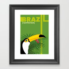 Brazil [rainforest] Framed Art Print
