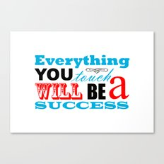 Fortune Cookie - on success Canvas Print
