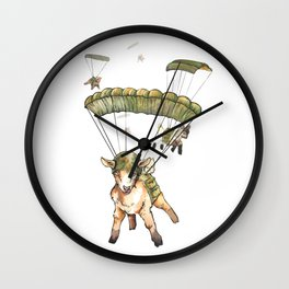 The Squad Wall Clock