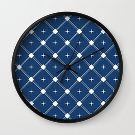 Adorned Trellis III Wall Clock