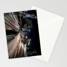 6th st overpass Stationery Cards