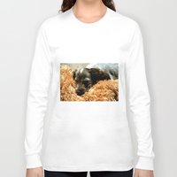 coco Long Sleeve T-shirts featuring Coco by Sandra Ireland Images