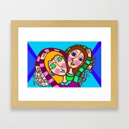 Fun Party Framed Art Print