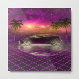 Back to the eighties Metal Print