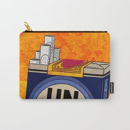 UNLUCKY & TOASTED Carry-All Pouch