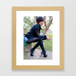Fashion Pic Framed Art Print