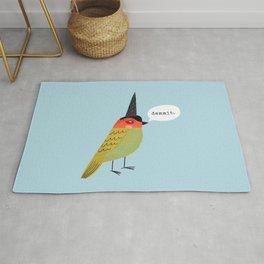 Birds With Attitude: Dammit Rug